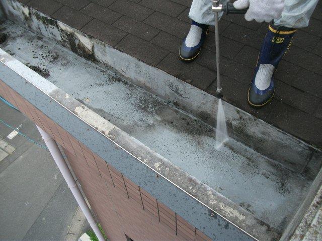 高水圧洗浄作業