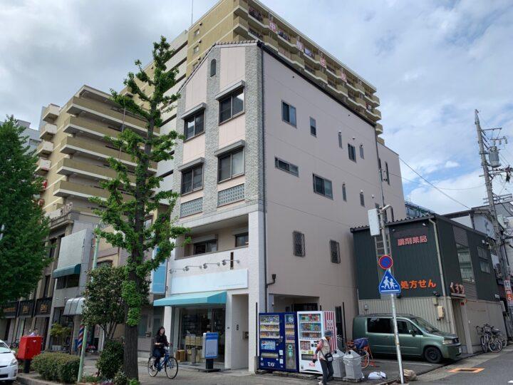 名古屋市中区 外壁塗装工事、防水工事